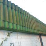 Asbestdach - Demontage und Entsorgung